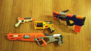 Nerf guns, Rifle, two pistols for Sale in Austin, TX