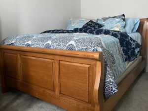 Wooden Bed Frame for Sale for Sale in Triangle, VA