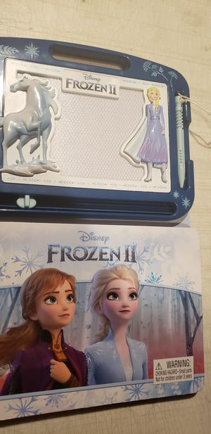 Frozen II Learn to Draw Erasable Magnetic Pad & Storybook for Sale in Los Angeles, CA