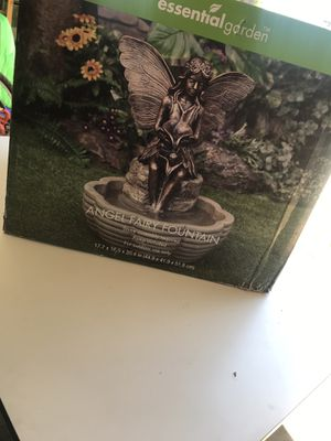 Angel fairy fountain $50 firm for Sale in Modesto, CA