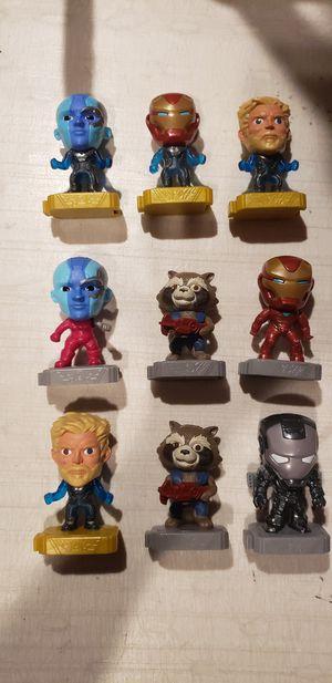 9 Marvel Avengers McDonalds Infinity War Figures 2019 for Sale in Los Angeles, CA