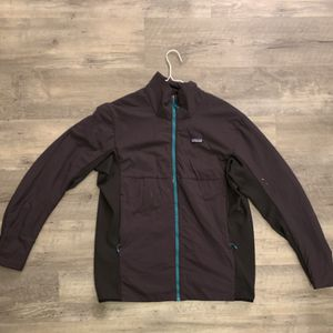 Patagonia Mens Soft Shell Windbreaker Teal Gray Full Zip Jacket Size XXL for Sale in Irmo, SC