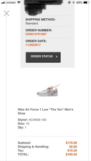off white air force 1 for Sale in US