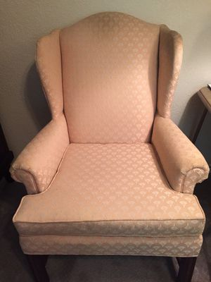 Wingback chair for Sale in Gaylord, MI