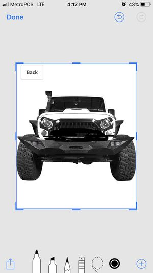Jeep Wrangler jk and unlimited front bumper full width w/winch plate and led lights brand new blade master fits 07-2018 for Sale in Jurupa Valley, CA