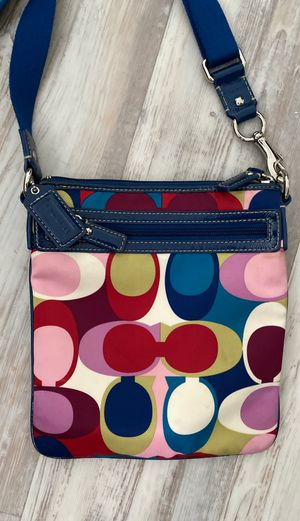 Coach colorful crossbody for Sale in Pembroke Park, FL
