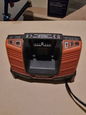 Ridgid 18v battery charger for Sale in Bellevue, WA