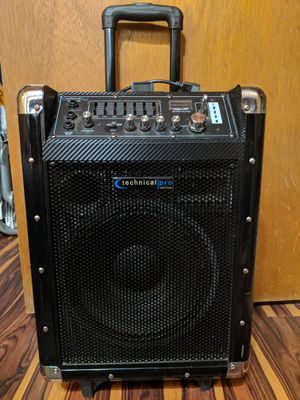 Portable PA system - Technical Pro Wasp 1000 for Sale in Payson, AZ