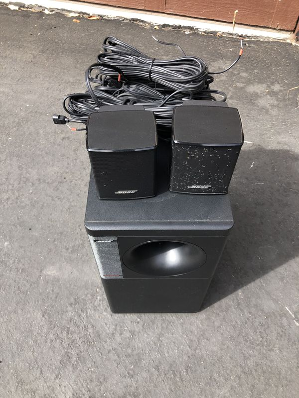 Bose acoustimass speaker system with subwoofer