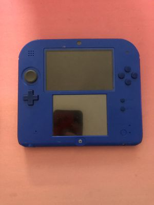Nintendo DS Lite with Mario Kart installed and Pokémon moon and Animal Crossing included with charger cable for Sale in San Antonio, TX