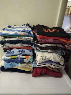 Boy sleepers and onesies 35 onesies and 13 sleepers $40 for Sale in Germantown, MD
