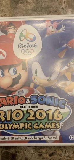 Mario & Sonic Rio 2016 Olympic Games for Sale in Parrish,  FL