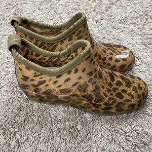 Cheetah low rain boots for Sale in San Jose, CA