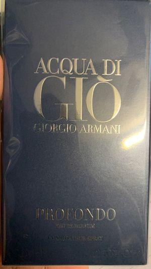Acqua Di Gio by Giorgio Armani 2.5 oz (75ml) for Sale in Alexandria, VA