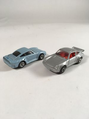 Hot Wheels vs Matchbox Porsche pair cars for Sale in Portland, OR