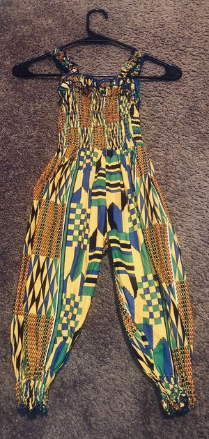 2T/3T African print jumpsuit for Sale in Saint Charles, MO