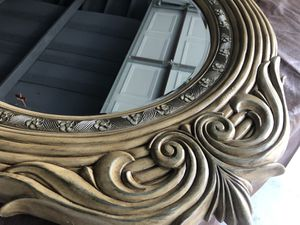 Wall Mirror with Carving for Sale in Canton, MI