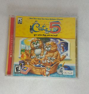 Catz 5 Your Virtual Petz Pals are Back! (PC, 2002) Kids Game - FIRM PRICE for Sale in Leander, TX
