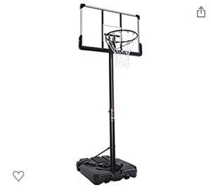 Portable Basketball Hoop & Goal Basketball System Basketball for Sale in Philadelphia, PA