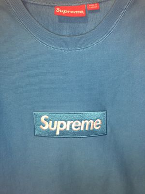 Supreme blue box logo crew for Sale in Happy Valley, OR