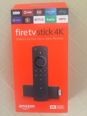FULLY LOADED 2020 AMAZON FIRE TV STICK 4K W/VOLUME & ALEXA REMOTE for Sale in Anna, TX