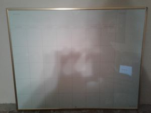Dry erase board and calender for Sale in Prattville, AL