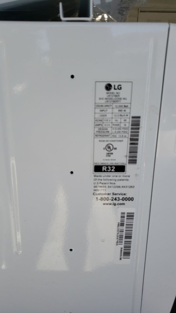 Lg AC model lw1216er