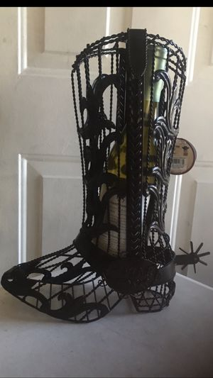 """Home decor Wine holder 15"""" inch tall for Sale in Las Vegas, NV"""