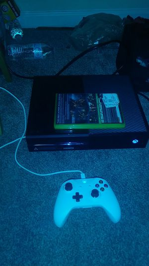 Xbox one brand new condition kus now start using for Sale in Stone Mountain, GA