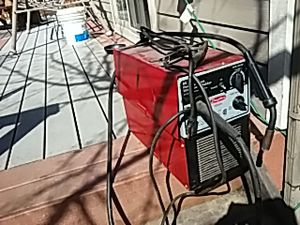 Dayton welding machine.85 amps dual purpose wire feed welder for Sale in Denver, CO
