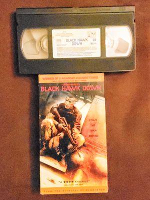 Black Hawk Down VHS Ridley Scott War Movie for Sale in Patsey, KY
