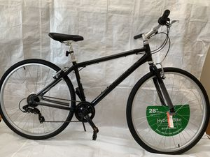 "28"" men's Schwinn Median 700c Hybrid Bike (Black) for Sale in Stoughton, MA"