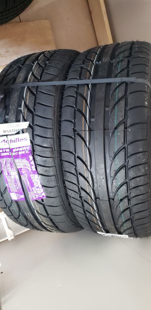 Tires, 225/45/17,new, for Sale in Egg Harbor City, NJ