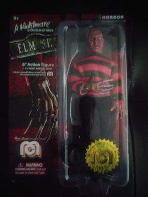 "8"" a night mare on elm street action figure& dvd set for Sale in Carmichael, CA"