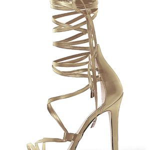 Gold Gladiator Heels for Sale in Smyrna, TN