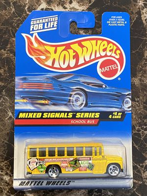 Hot Wheels Mixed Signal Series School Bus 4/4 for Sale in Orlando, FL