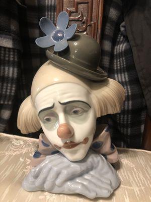 LLADRO clown figurine with original box for Sale in Los Angeles, CA