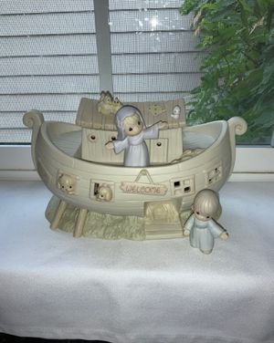 "Vintage ""PRECIOUS MOMENTS COLLECTION - 1992 Porcelain NOAH'S ARK Starter Set"" for Sale in Beaverton, OR"
