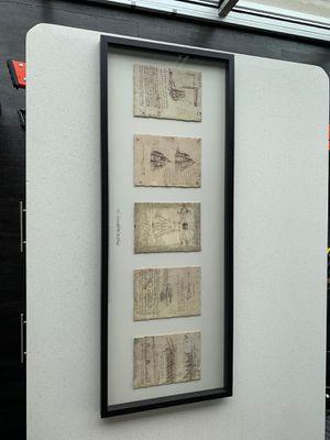 Leonardo Da Vinci 1452-1519 Printed Drawings for Sale in Raleigh, NC