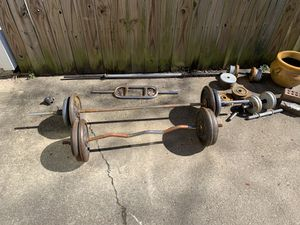 Weight set (310lb) total for Sale in Virginia Beach, VA