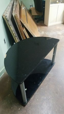 Half round tv stand for Sale in Dunwoody,  GA