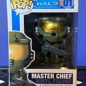 Halo Master Chief Funko Pop #01 for Sale in Whittier, CA