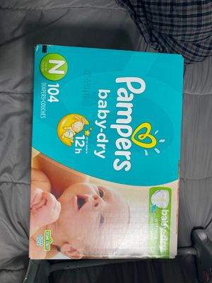 Pampers (Newborn) for Sale in Long Beach, CA
