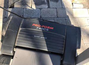 Proform 745cs treadmill quick speed for Sale in Brockton, MA