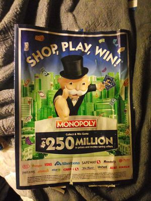 Are you playing monopoly? Got anything im missing or vise versa? for Sale in Aberdeen, WA