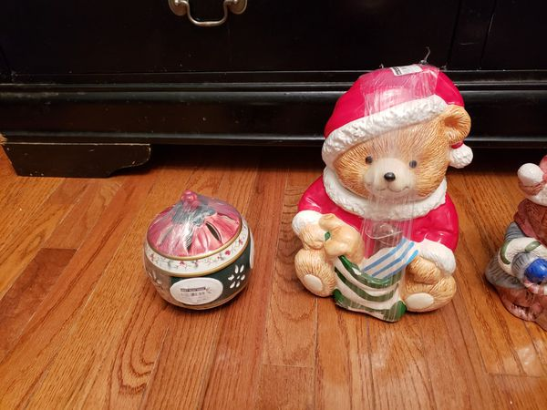 Ceremic Christmas Tree and Bear
