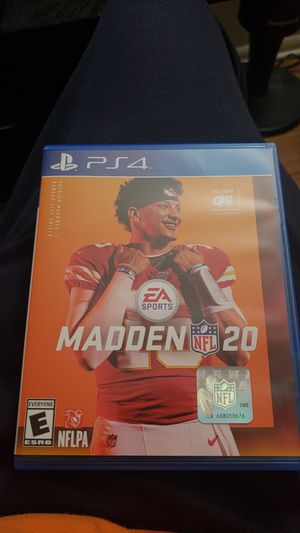 Madden 20 ps4 for Sale in Palatine, IL
