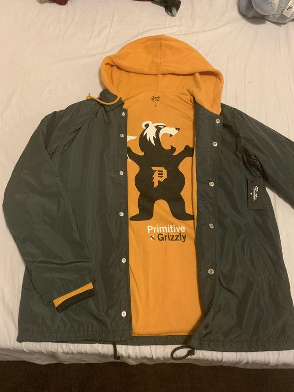 Pritmitive double sided jacket