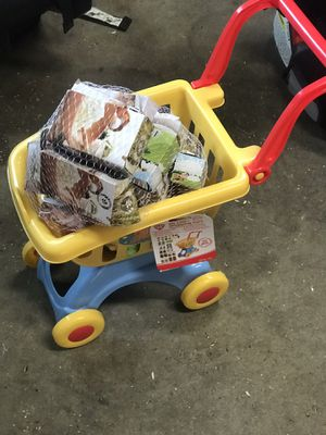 Toddlers shopping cart $5 for Sale in Westport, WA