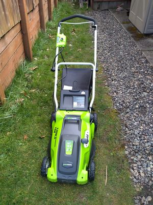 Greenworks electric lawn mower for Sale in Clackamas, OR